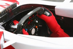Super Aguri steering wheel
