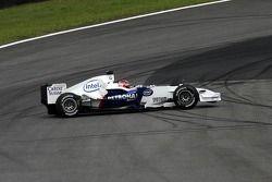 Robert Kubica spins