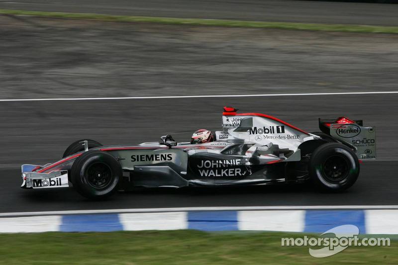 マクラーレンMP4-21・メルセデス(キミ・ライコネン/2006年ブラジルGP)