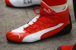 Schuhe von Michael Schumacher, Ferrari