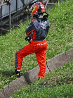 Tiago Monteiro después de su vuelta