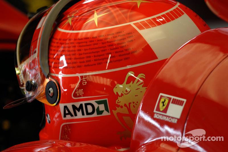 2006 Brazil: Ferrari