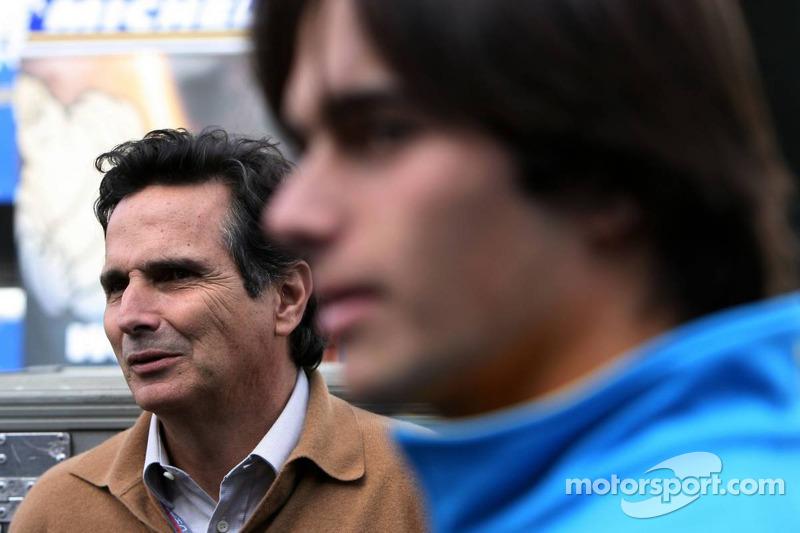 Nelson A. Piquet et son père Nelson