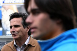 Nelson A. Piquet with father Nelson