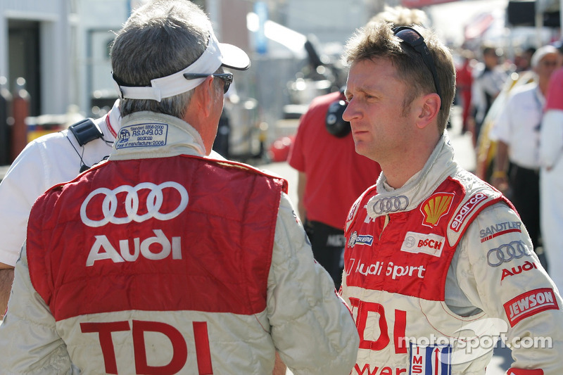Allan McNish et Rinaldo Capello