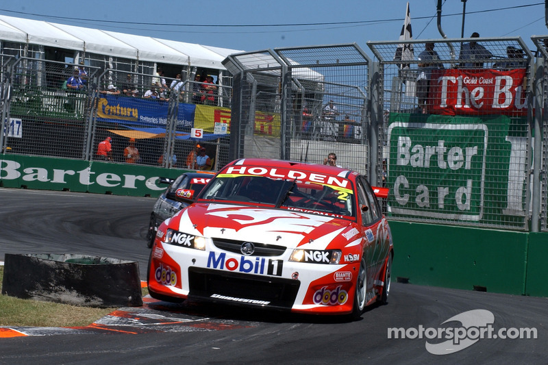 Mark Skaife prend un peu l'air