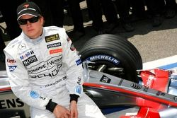 Photo de l'écurie McLaren-Mercedes : Kimi Räikkönen