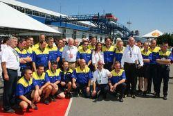 Foto de grupo, Michelin