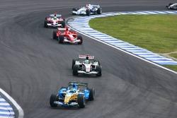 Giancarlo Fisichella and Rubens Barrichello