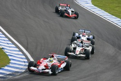 Ralf Schumacher y Jenson Button