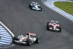 Rubens Barrichello y Ralf Schumacher