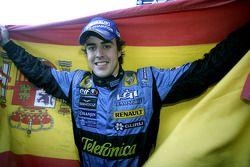 Il campione del mondo di F1 2006 Fernando Alonso