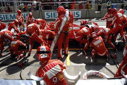 Boxenstopp: Michael Schumacher, Ferrari