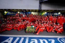 Michael Schumacher se despide de Ferrari en su retirada de la Fórmula 1