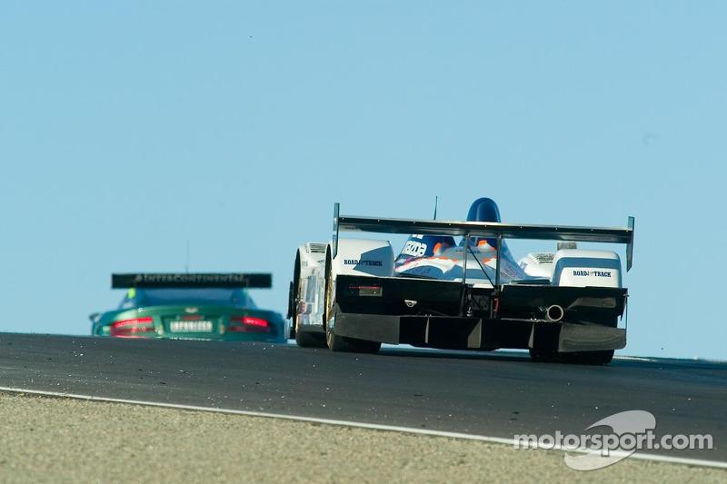 La B-K Motorsports Courage C65 Mazda n°8 : Jamie Bach, Guy Cosmo