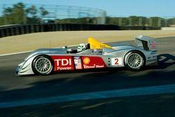 #2 Audi Sport North America, Audi R10 TDI Power: Rinaldo Capello, Allan McNish