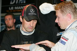 Bernd Schneider and Mika Hakkinen