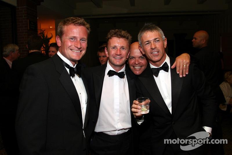 Allan McNish, Rinaldo Capello et des amis