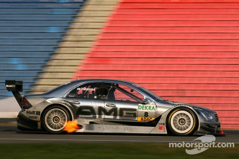 2006: Mika Hakkinen, Mercedes-AMG Clase C