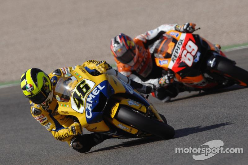 Titelstrijd met Valentino Rossi