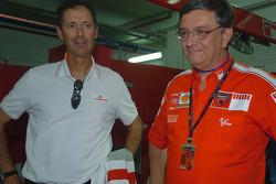 Luna Rossa Challenge skipper Francesco de Angelis and Federico Minoli