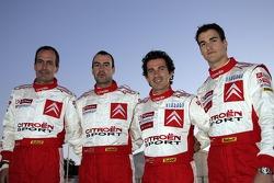 Daniel Sordo, Marc Marti, Xavier Pons y Carlos Del Barrio