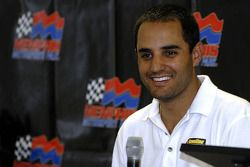 Juan Pablo Montoya, Mike Wallace and Joey Miller