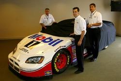 Conférence de presse : Sam Hornish Jr. dévoile la voiture Mobile de Penske Racing qui courra en NASCARBusch Series