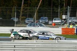Lutte intense au Spitzkehre : Bruno Spengler dépasse Heinz-Harald Frentzen
