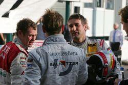 Tom Kristensen, Jamie Green et Bernd Schneider