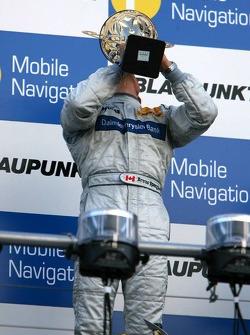 Podium: race winner Bruno Spengler