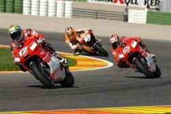 Troy Bayliss en Loris Capirossi