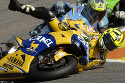 Caída de Valentino Rossi