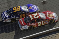 Jamie McMurray and Ken Schrader