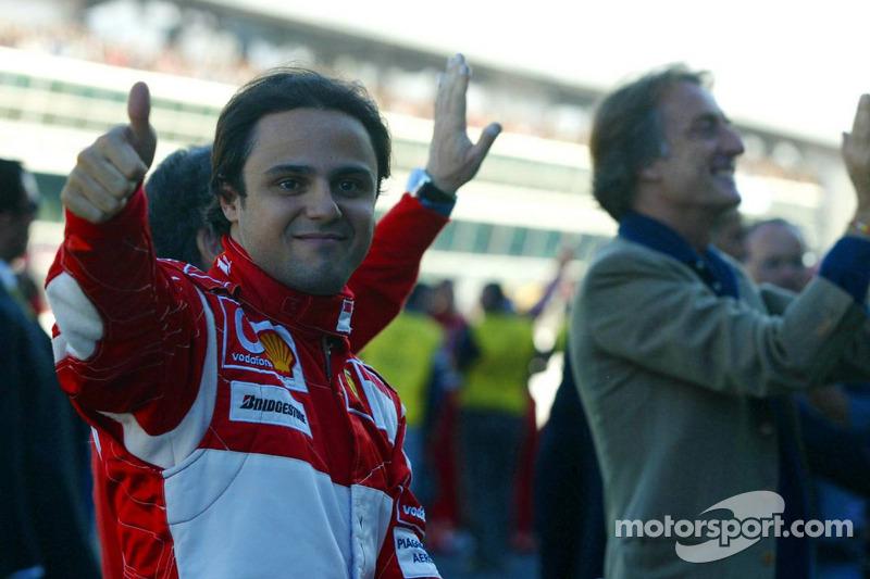 Felipe Massa ve Luca di Montezemolo