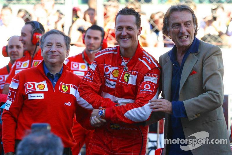 Jean Todt, Michael Schumacher ve Luca di Montezemolo