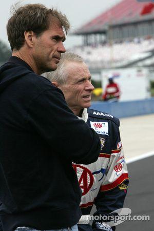 Ray Evernham et Mark Martin