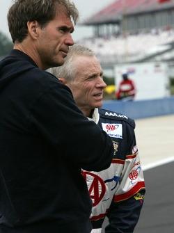 Ray Evernham and Mark Martin