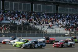 Four-wide action led by Ted Musgrave