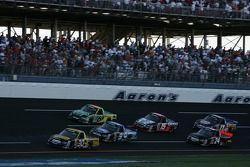Todd Bodine leads the pack