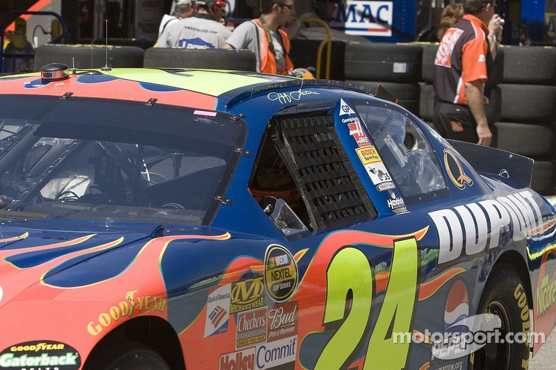 Jeff Gordon quitte le garage