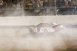 Kasey's victory burnout