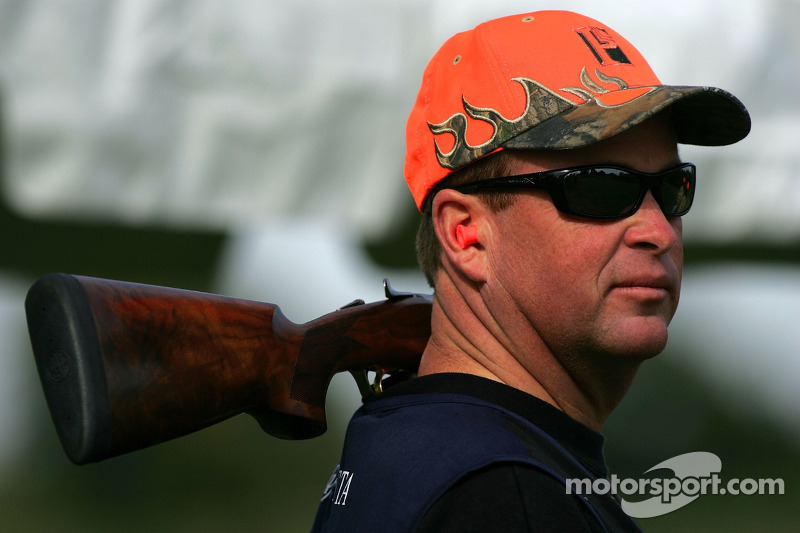Beretta Celebrity Clay Shoot au Ranch Circle T à Fort Worth au Texas : Tony Raines