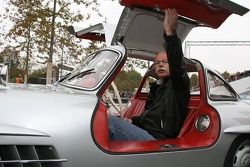 Dr. Dieter Zetsche at the Mercedes-Benz cars drive around the new Mercedes-Benz Museum at Stuttgart-