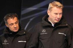Jean Alesi and Mika Hakkinen