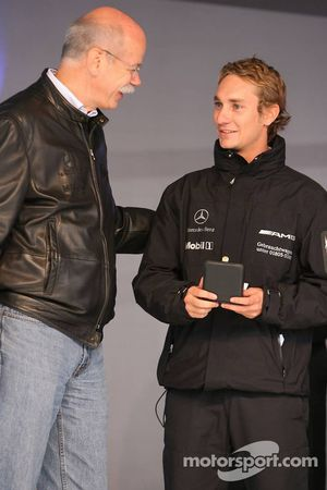 Dr. Dieter Zetsche and Mathias Lauda