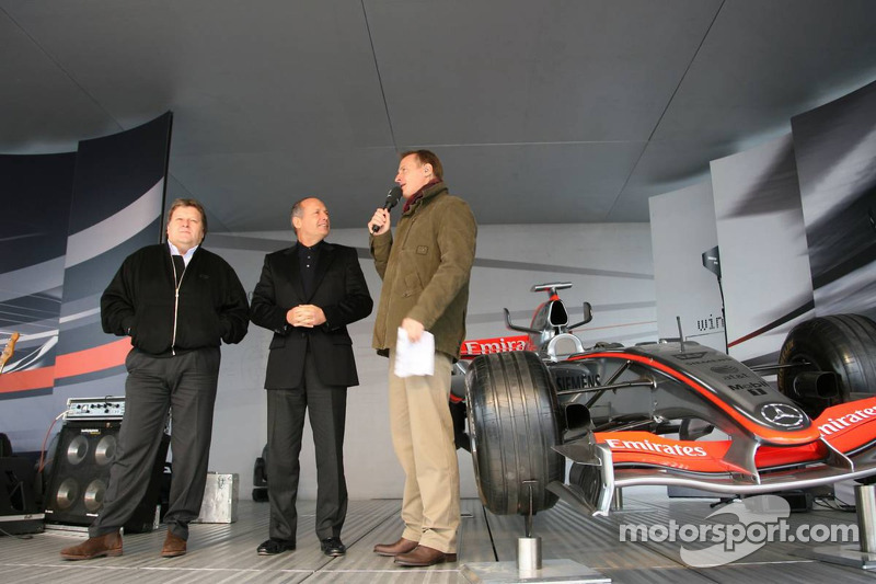 Norbert Haug y Ron Dennis
