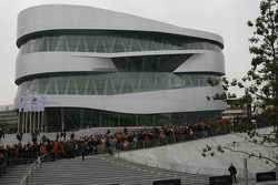 The new Mercedes-Benz Museum at Stuttgart-Untertürkheim
