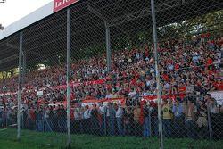 Fans à Monza