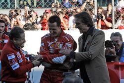 Жан Тодт, Михаэль Шумахер и Лука ди Монтедземоло, Ferrari
